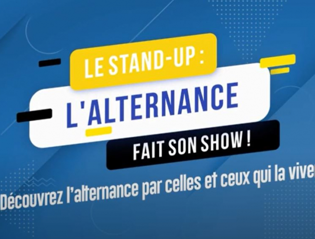 "Le stand-up : ""L'alternance fait son show"""